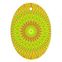 Mandala Oval Ornament by Siebenhuehner