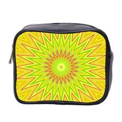 Mandala Mini Travel Toiletry Bag (two Sides) by Siebenhuehner