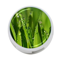 Grass Drops 4 Port Usb Hub (two Sides) by Siebenhuehner