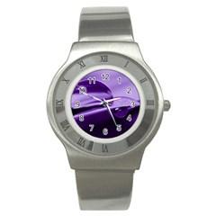 Drops Stainless Steel Watch (slim) by Siebenhuehner