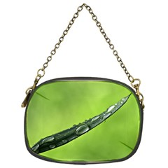 Green Drops Chain Purse (one Side) by Siebenhuehner