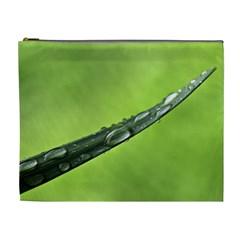 Green Drops Cosmetic Bag (xl) by Siebenhuehner