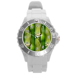 Bamboo Plastic Sport Watch (large) by Siebenhuehner