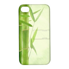 Bamboo Apple Iphone 4/4s Hardshell Case With Stand by Siebenhuehner