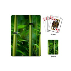 Bamboo Playing Cards (mini) by Siebenhuehner