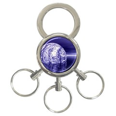 Ball 3 Ring Key Chain by Siebenhuehner