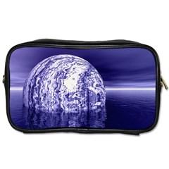 Ball Travel Toiletry Bag (one Side) by Siebenhuehner