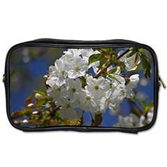 Cherry Blossom Travel Toiletry Bag (one Side) by Siebenhuehner