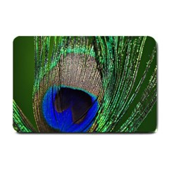 Peacock Small Door Mat by Siebenhuehner
