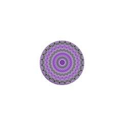 Mandala 1  Mini Button by Siebenhuehner