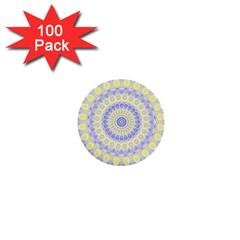 Mandala 1  Mini Button (100 Pack) by Siebenhuehner