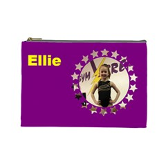 Ellie By Jennie Davis   Cosmetic Bag (large)   Zmatzlawxeb1   Www Artscow Com Front
