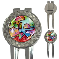 Graffity Golf Pitchfork & Ball Marker by Siebenhuehner