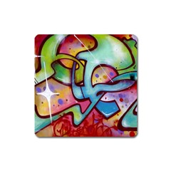 Graffity Magnet (square) by Siebenhuehner
