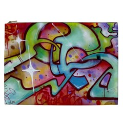 Graffity Cosmetic Bag (xxl) by Siebenhuehner