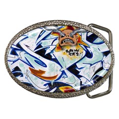 Graffity Belt Buckle (oval) by Siebenhuehner