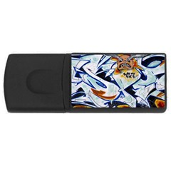Graffity 4gb Usb Flash Drive (rectangle) by Siebenhuehner