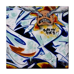 Graffity Face Towel by Siebenhuehner