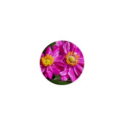 Flower 1  Mini Button Magnet by Siebenhuehner