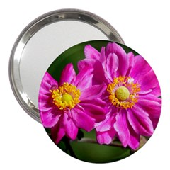 Flower 3  Handbag Mirror by Siebenhuehner
