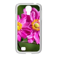 Flower Samsung Galaxy S4 I9500/ I9505 Case (white) by Siebenhuehner