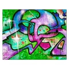 Graffity Jigsaw Puzzle (Rectangle) by Siebenhuehner