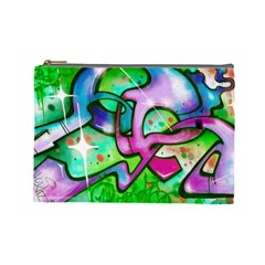 Graffity Cosmetic Bag (large) by Siebenhuehner