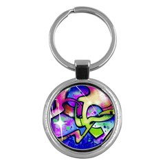 Graffity Key Chain (round) by Siebenhuehner