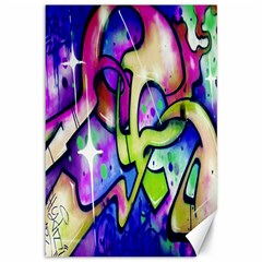 Graffity Canvas 12  X 18  (unframed) by Siebenhuehner