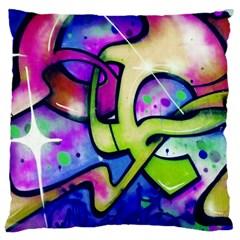Graffity Large Cushion Case (single Sided)