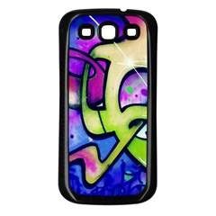 Graffity Samsung Galaxy S3 Back Case (black) by Siebenhuehner