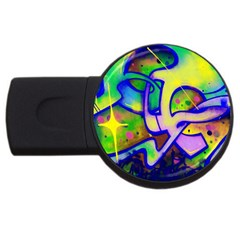 Graffity 2gb Usb Flash Drive (round) by Siebenhuehner