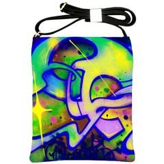Graffity Shoulder Sling Bag by Siebenhuehner