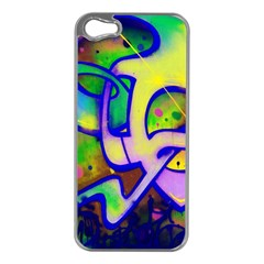 Graffity Apple Iphone 5 Case (silver) by Siebenhuehner