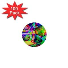 Graffity 1  Mini Button (100 Pack) by Siebenhuehner