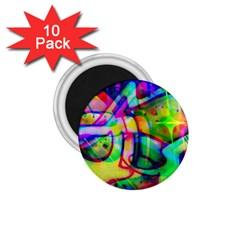 Graffity 1 75  Button Magnet (10 Pack) by Siebenhuehner