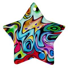 Graffity Star Ornament by Siebenhuehner