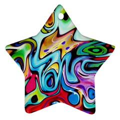 Graffity Star Ornament (two Sides) by Siebenhuehner