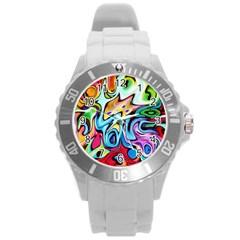Graffity Plastic Sport Watch (large) by Siebenhuehner