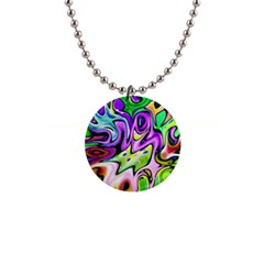 Graffity Button Necklace by Siebenhuehner