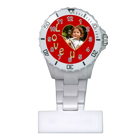 Love Nurses Watch By Deborah   Plastic Nurses Watch   Uietjpokadl1   Www Artscow Com Front