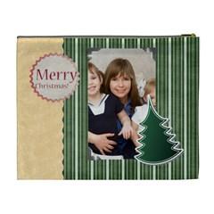 Mery Christmas By Joely   Cosmetic Bag (xl)   Jbfdvecuybbu   Www Artscow Com Back