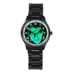 Framk Sport Metal Watch (black) by Contest1741083