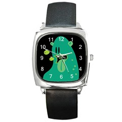 Monster Square Leather Watch by Contest1771913