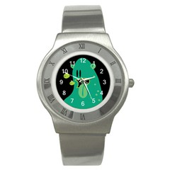 Monster Stainless Steel Watch (Slim) by Contest1771913