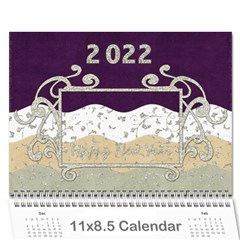 2015 Calender Elegance By Shelly   Wall Calendar 11  X 8 5  (12 Months)   76vue8f1no4m   Www Artscow Com Cover