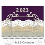2015 Calender Elegance - Wall Calendar 11  x 8.5  (12-Months)
