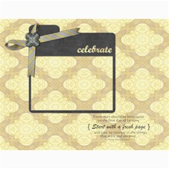 2015 Glittering New Year Calender By Shelly   Wall Calendar 11  X 8 5  (12 Months)   Qt4zig64do40   Www Artscow Com Month