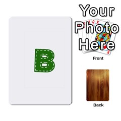 Study Card By Divad Brown   Playing Cards 54 Designs   Bs21use55g9l   Www Artscow Com Front - Diamond5