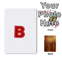 Ace Study Card By Divad Brown   Playing Cards 54 Designs   Bs21use55g9l   Www Artscow Com Front - ClubA